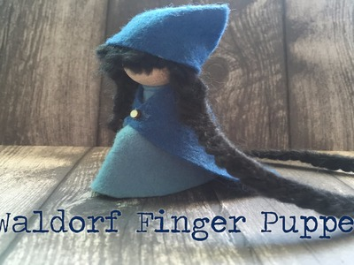 Imaginative Play: How to Make a Waldorf Finger Puppet toy