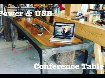 Industrial Power & USB Conference table   How-To