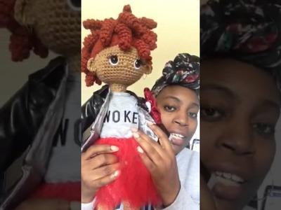 Introducing Ms. Maddie Custom Brown Doll