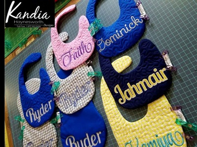 Kandia's Pricing Formula For Personalized Bibs