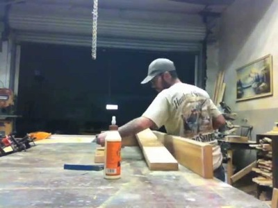 M DiResta -  Make A Beautiful Rustic Table In An Hour