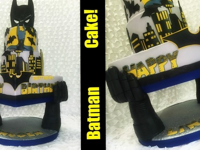 Making A Batman Cake ~And Support Structure~!