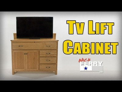 Ⓕ Making A TV Lift Cabinet w. Secret Compartment (ep63)