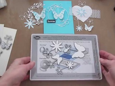 Memory Box Cutting, Embossing and Stamping die cuts.