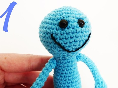 Mr. Meeseeks Amigurumi Tutorial Part 1