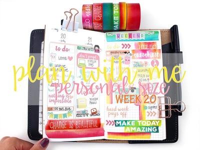 Plan with Me: ItsPlanningTime Bright Florals | MandyPlans