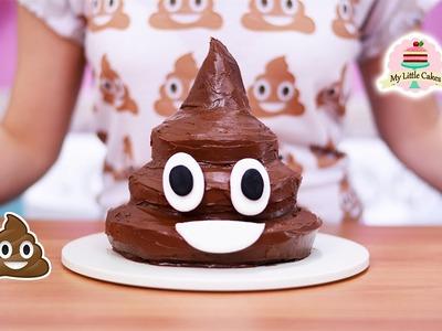 POOP EMOJI CAKE | MY LITTLE CAKES
