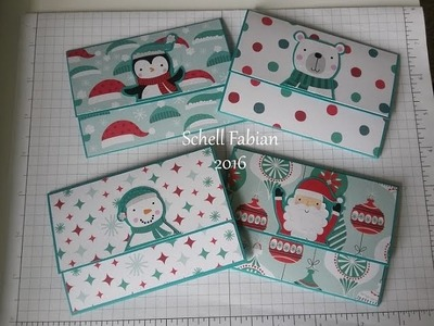 Project Share - Pop Up Gift Card Holders 2016