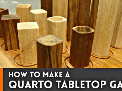 Quarto Tabletop Game. How-To