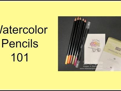 Quick Crafting Tip - Watercolor Pencils 101