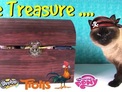 Simon's Blind Bag Treasure Chest #33 Trolls Twozies Disney Shopkins Toy | PSToyReviews