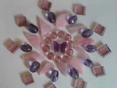 Stained Glass mosaic window panel how to