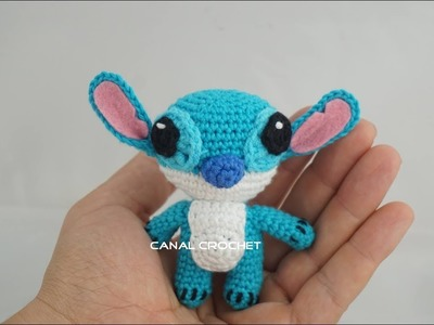 Stitch amigurumi tutorial