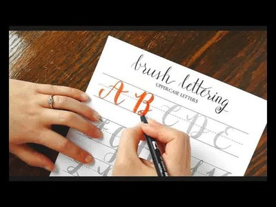 The Beginner's Guide to Brush Lettering: Forming and Connecting Letters