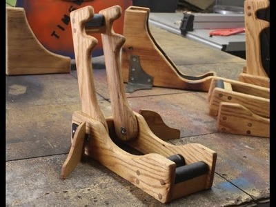 """The """"sway stand"""" folding guitar stand"""
