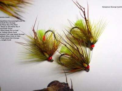 Tying the Gorgeous George (Irish Wet Fly) with Davie McPhail