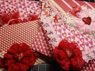 Valentine's Day Decorative Envelope Cards