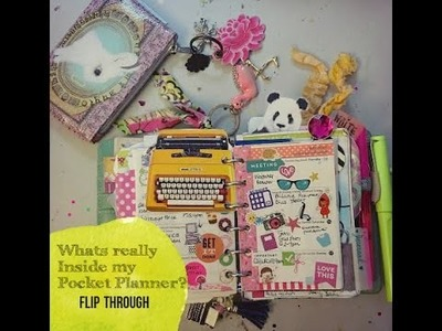 """What's really in my Pocket Filofax 