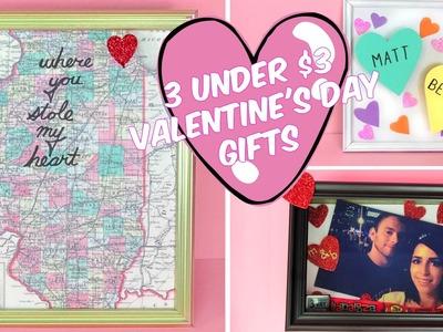 3 UNDER $3 EASY VALENTINE'S DAY GIFT D.I.YS