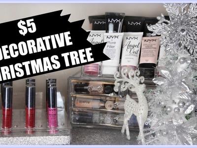 $5 Dollar Tree Decorative Christmas Tree