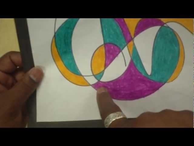 Art Lessons for Kids: Scribble Art