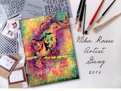 Artist Gang 2016 | Mixed Media Bird | Nika Rouss