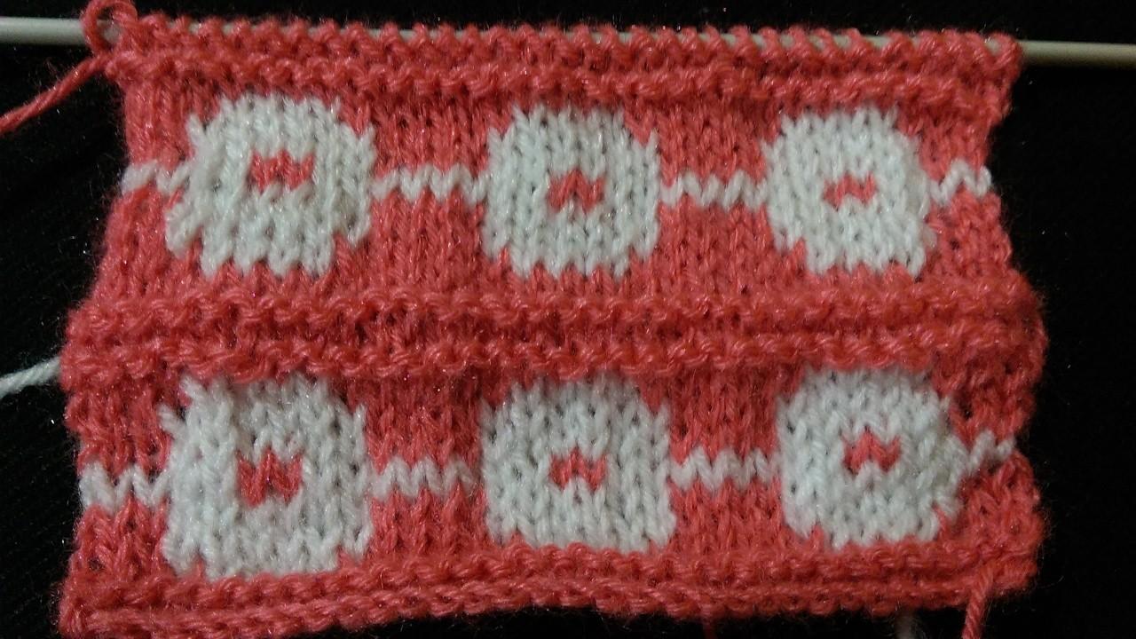 Baby Design Pattern In Two Colour Baby Sweater Ki Bunai Easy