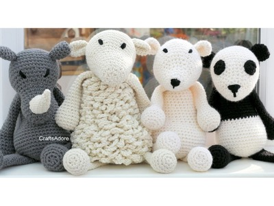CraftsAdore's  Edwards Menagerie Crocheting Vlog #2 ~HD~