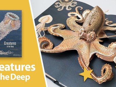 Creatures of the Deep: The Pop-up Book by Maike Biederstaedt