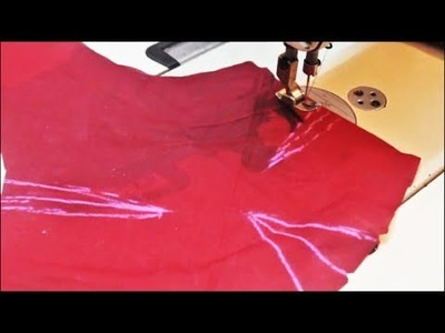 Cross Cut Blouse Stitching | Tamil (DIY) PART 2