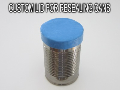 Custom Lid for Resealing Cans
