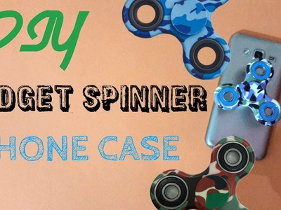 DIY Fidget SPINNER Popsocket PHONE Case ~ DIY WEIRD PHONE CASE ~