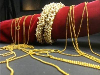 DIY | Gorgeous Hyderabad Pearl Bangle
