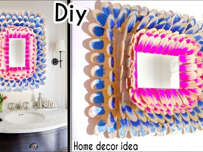 DIY ROOM DECOR! cool and easy framed mirrors Ideas at Home | Artkala 228