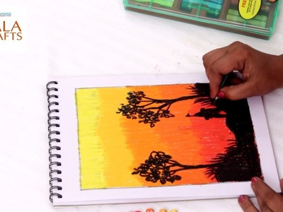 Easy Step By Silhouette Painting Tutorial