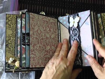 Envelope Mini Album Swap at MAS Following Envelope Tutorial by Angelwing14100