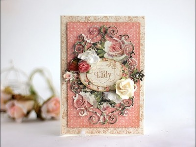 Feminine Cards with Portrait of a Lady - Graphic45
