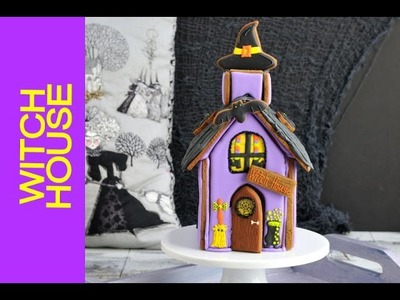 HALLOWEEN GINGERBREAD WITCH HOUSE, HANIELA'S