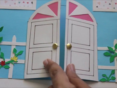 Happiness is. Crafting! DIY Craft Tutorial - 11 : Housewarming invitation or congratulations card