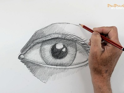 How to Draw a Human Eye (step by step)