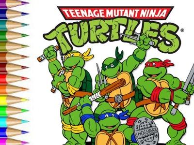 How to Draw Teenage Mutant Ninja Turtle  fun for kids to learn art