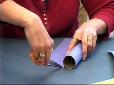 How to Make a Rain Stick : How to Decorate Rain Sticks With Construction Paper