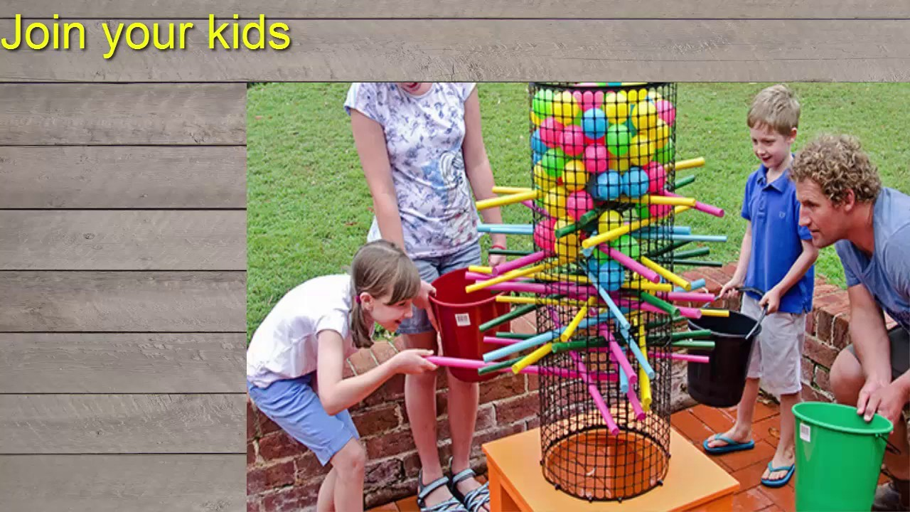 HOW TO MAKE  Backyard Ker Plunk game - DIY │♥ Hgchannel♥