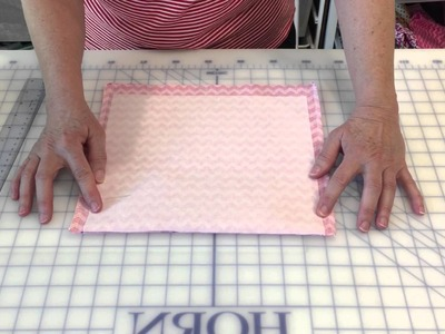How to make boxed corners or square corners.