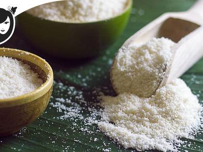 How to Make Coconut Flour [Homemade]   Gluten-free + Grain-free + Vegan