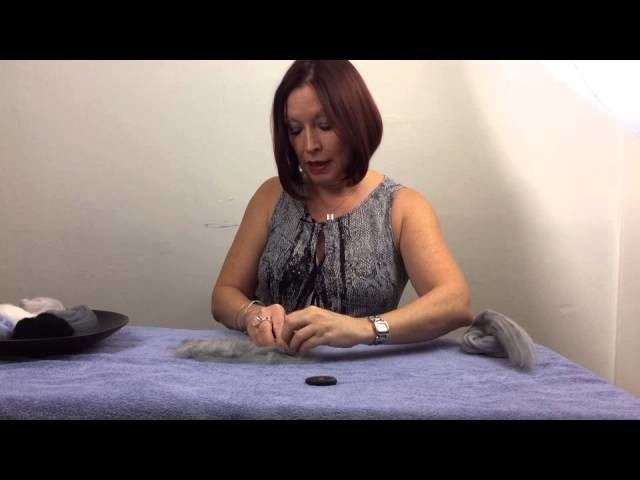 How To Make Felted Rocks