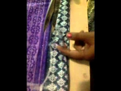 How to make Nighty(cutting) (Churidhar model) KERALA style