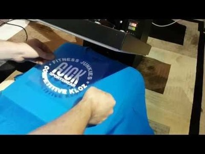 How to make tee shirts at home with heat tranfer vinyl