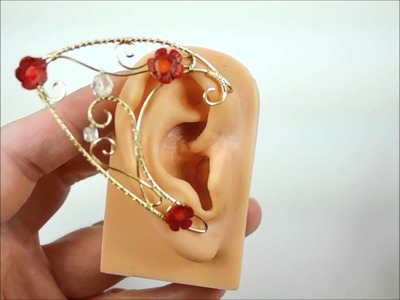 How to put on Ear Cuffs, Elf Ears and other Ear Wraps