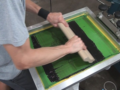 How To Screen Print: 2 Color Press Set Up & Test Shirt